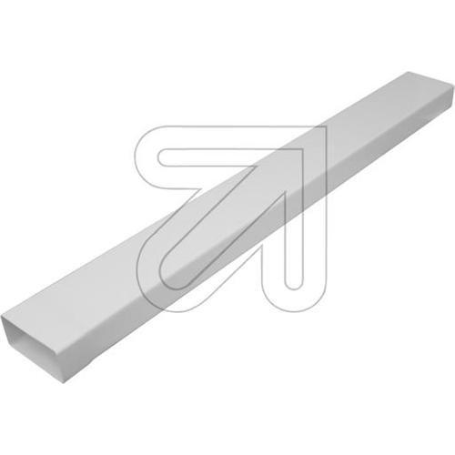 Flachrohr 1 m mit Muffe System 100 66851