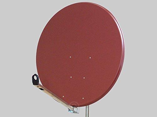 Antenne Gibertini 100 cm Alu Ziegelrot L-Serie