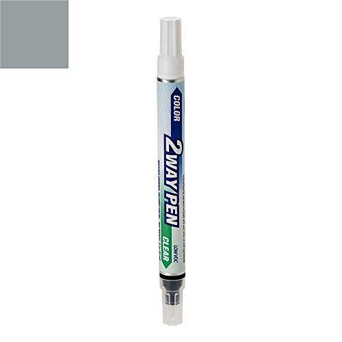 ColorRite Pen Automotive Touch-up Paint for Volvo S80 - Silver Metallic Clearcoat 426 - Color+Clearcoat Package
