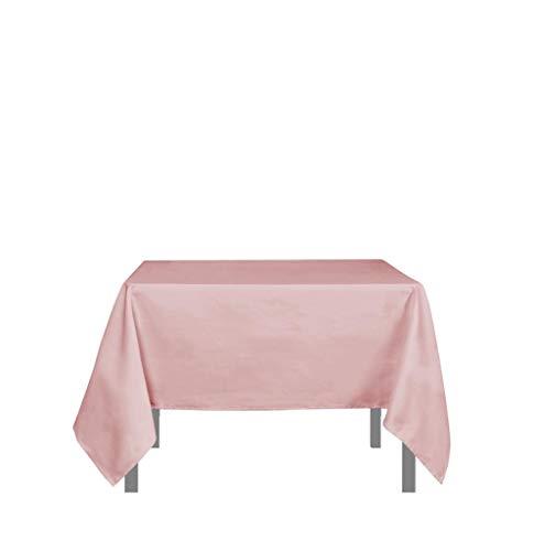 Soleil d'ocre 814235 Tischdecke mit Fleckschutz quadratisch 180x180 cm ALIX rosa