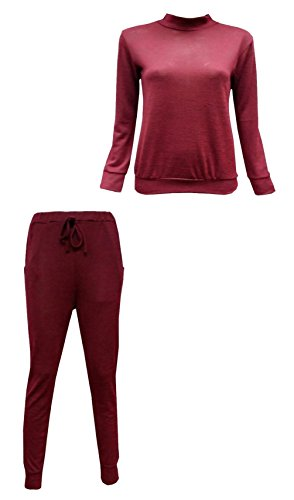 FASHION FAIRIES Dames Vrouwen Tie Up 2 Stks Gebreide Tracksuit Full Sleeve Lounge Draag Jogging Pak