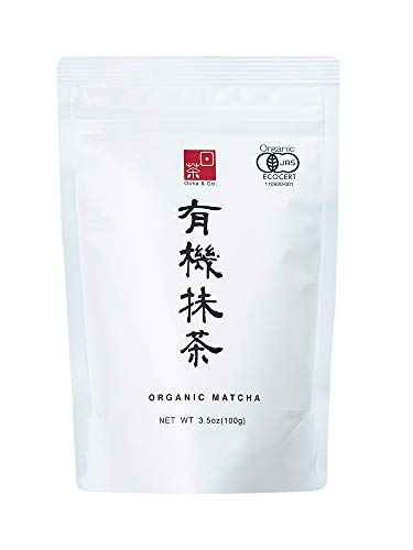 Ocha & Co. Japanese Tea - Organic Matcha Green Tea Powder - Traditional Stone Milled Japanese Matcha, 100g/3.5oz.