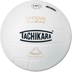 Tachikara NFHS-geprüfter Sensi-Tec Composite-Volleyball (weiß)