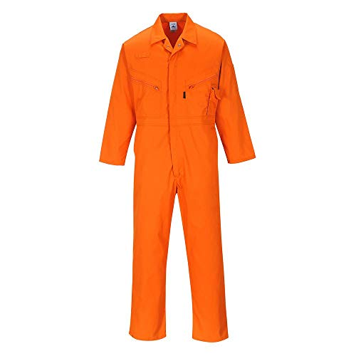 Portwest C813 Postboilersuit, Größe M, Orange