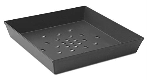 lloydpans anodizado duro de Cocina hecha en Estados Unidos de 12pulgadas por 12por 2(perforado Deep Dish pizza Pan