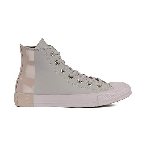 Converse Chuck Taylor All Star High Classic CTAS Hi Unisex Canvas Sneaker mit 7kmh Aufkleber Rot 6575 35