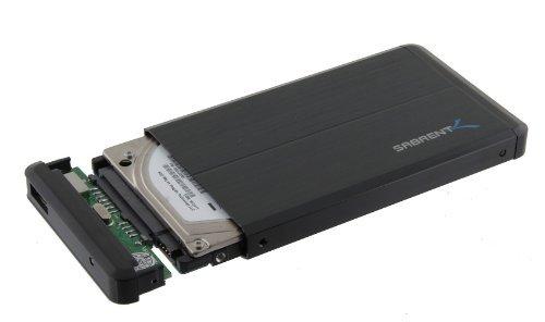 Sabrent Recinto del Disco Duro Externo SATA a USB 2.0 de 2,5 Pulgadas (EC-UST25)