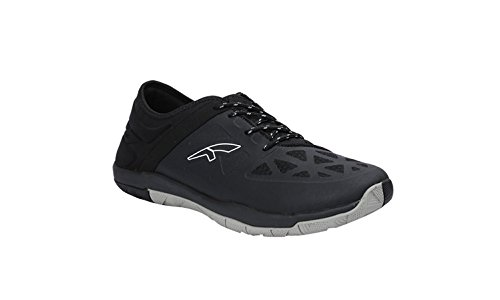 FURO by Red Chief WB1001 Running Sport Shoes for Men (8, Black)