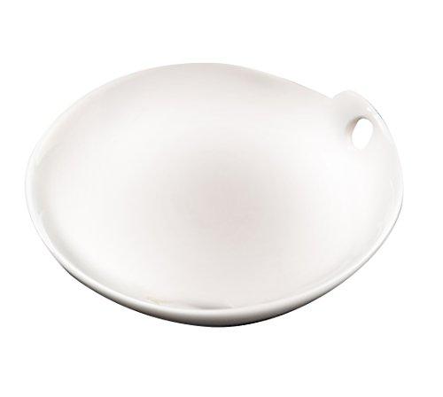 Deagourmet 27 Plat, Porcelaine, Blanc