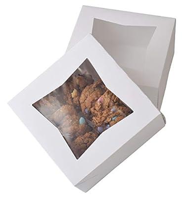 White Bakery Boxes
