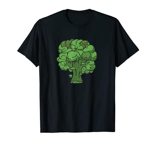 Brcoli Forever - Disfraz de verdura divertida y saludable Camiseta