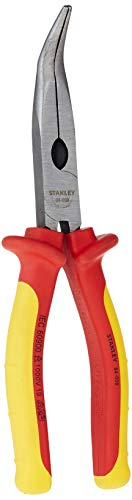 Stanley 0-84-008 - Alicate 1000V VDE punta Semi-redonda