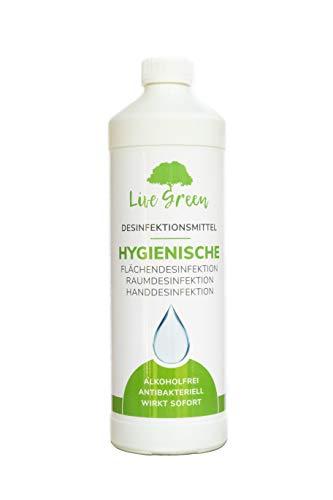 Live Green Flächendesinfektion | Flächendesinfektionsmittel | Flächendesinfektions Reiniger | Desinfektionsmittel für Flächen | Raumdesinfektion | Chlordioxidlösung