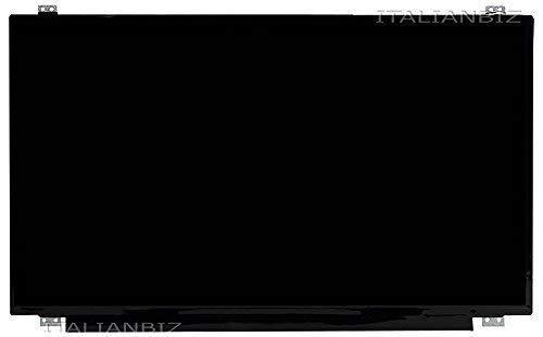 Schermo display LED 15.6' slim 30 pin compatibile per Asus X540SA-XX004T (90NB0B31-M01130), X540SA-XX018T, X540SA-XX311D, X540SA-XX311T (90NB0B31-M14900), X540SA-XX383T, X540SA-XX511T 90NB0B31-M18970