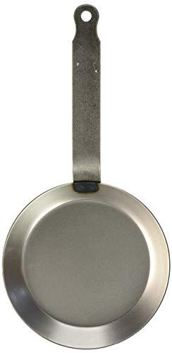 "Matfer Bourgeat Black Steel Crepe Pan, Skillet Style 7"" 062031"