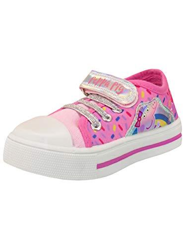 Peppa Pig Zapatillas Deportivas para Niñas Rosa 28