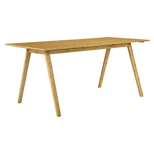 [en.casa] Bamboe Eettafel Niko 180x80x76 cm