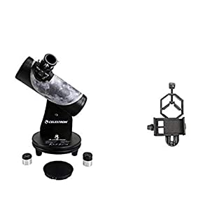 Celestron Signature Series Moon By Robert Reeves Features A Superb Moon Astronomical Telescope, Black (22016) with Basic…