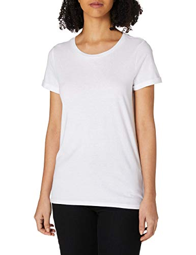 Q/S designed by - s.Oliver Damen 510.11.899.12.130.2064174 T-Shirt, White, M