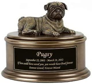 Perfect Memorials Pug Figurine Cremation Urn