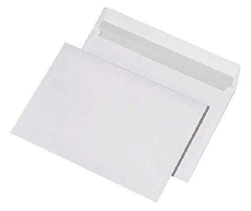 MAILmedia 257100 Briefumschläge C5 haftklebend, 100 g/qm, weiß