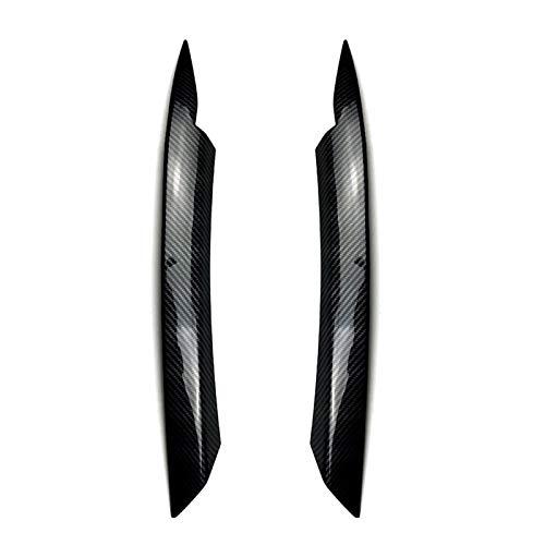 Scheinwerferblenden Auto-Scheinwerfer-Augenbraue Eyelids Aufkleber Für Volkswagen Für Passat B7 Trim Abdeckung Zubehör Car Styling Scheinwerfer Augenbraue (Color : Multi-Colored)