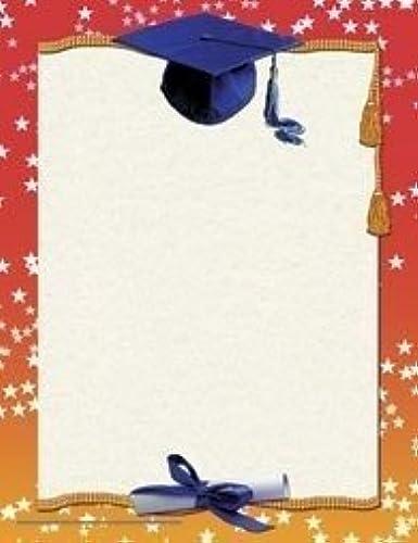 Graduation Border Paper by Flipside
