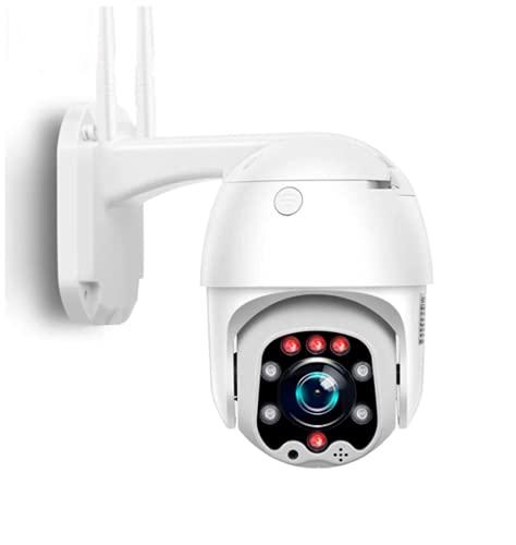 GOGR Outdoor/Indoor 4G SIM Surveillance camera-1080P HD CCTV IP Domo camera-355°pan/90° Tilt-Night Vision-Motion Detection-Alarm-Remote Control Via smartphone/PC-IP66 Waterproof (Camera+64G TF Card)