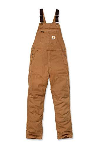 Carhartt Herren Rugged Flex Rigby Bib Overalls, Brown, W48/L32
