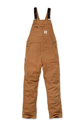 Carhartt Herren Rugged Flex Rigby Bib Overalls, Brown, W38/L30