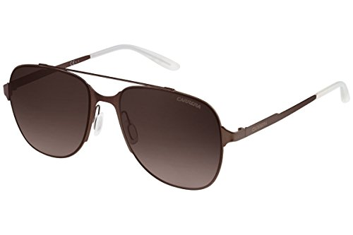 Carrera 114/S J6 Gafas de sol, Marrón (Brown Sematt/Brown Sf), 55 Unisex-Adulto