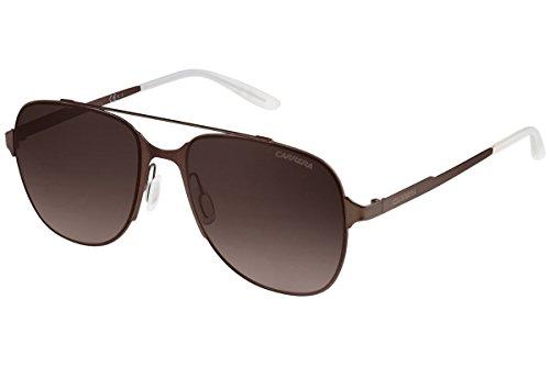Carrera 114/S J6 Gafas de sol, Marrón (Brown Sematt/Brown SF), 55 Unisex-Adulto
