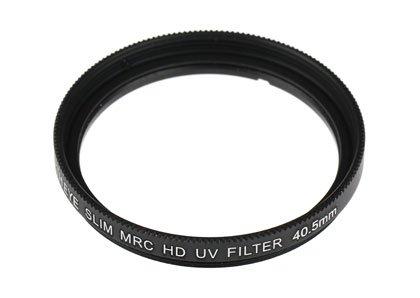 【UVレンズフィルター40.5mm+CPLレンズフィルター40.5mm】SONYα6400 ILCE-6400 パワーズームレンズキット用 互換マルチコートUVレンズ保護フィルター 40.5mmとMRC-CPL(サーキュラー偏光)レンズフィルター 40.5