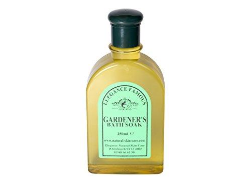 Bain Moussant Jardinier Célèbre 250ml. Fabriqué par Elegance Natural Skin Care en Grande-Bretagne