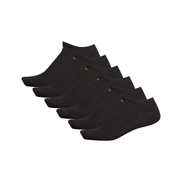 adidas mens Athletic Cushioned No Show Socks (6-pair)