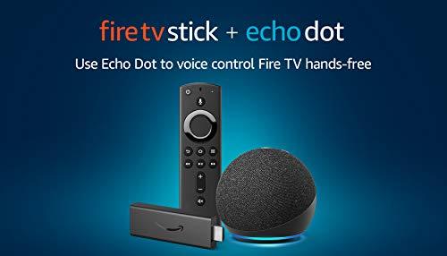 Fire TV Stick and Echo Dot (Charcoal) bundle