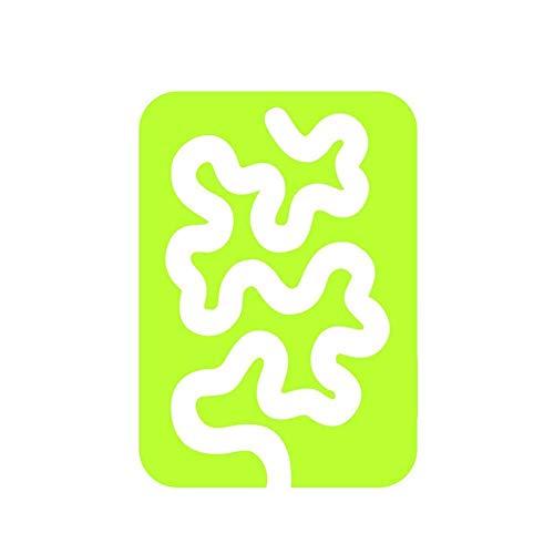 XCSM Plantillas de Patchwork de Acolchado de Movimiento Libre, Regla acrílica de Muestra, Plantilla de Costura doméstica para el hogar, máquina Reutilizable, Reglas de Acolchado para Manualidades