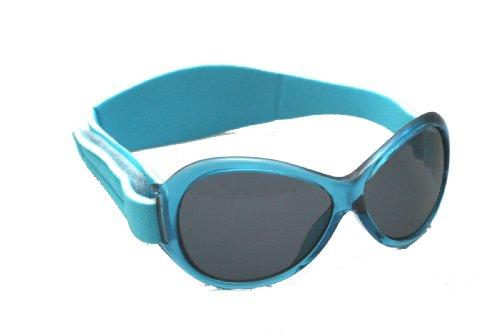 BabyBanz Retro Banz ovale Baby-Sonnenbrille Gr. 0 - 2 Jahre, blau
