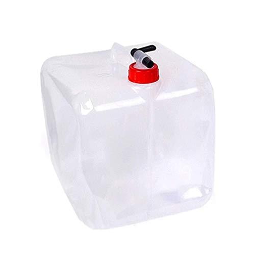 Camping Wasserbehälter Aufbewahrungstasche Behälter Wasserträger Im Freien Beweglichen Vier-Ecke Falteimer Eindickung 20L
