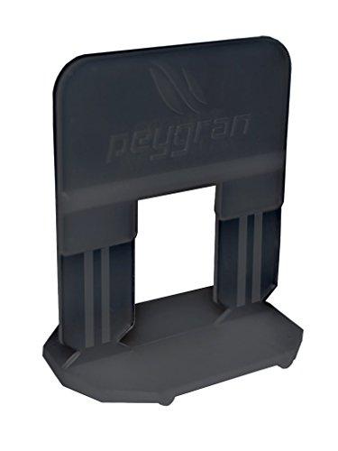 Sistema de nivelación de azulejos Peygran de 2 mm: 300 clips. Para instalación de azulejos y piedra sin desniveles, para profesionales y bricolaje. El producto más preciso y fiable del mercado.