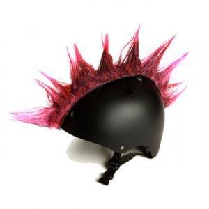 Wiggystyle - Cresta rosa - accesorio para el casco