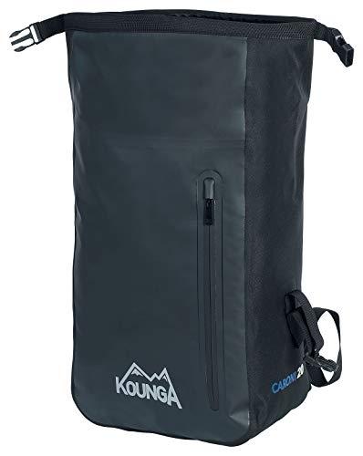 Kounga Caroni 30l Rucksack, Unisex Adulto, Black, 30 litres