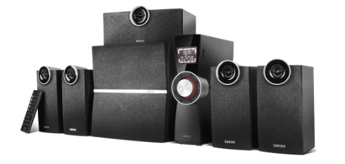 Edifier Multimedia C6XD - Sistema de Audio Home Cinema 5.1 (80 W). Color Negro