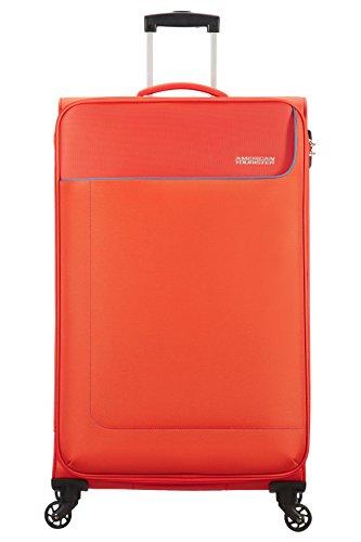 American Tourister - Funshine Spinner Valigia, Unisex, Poliestere, Arancione (Mandarina), 99.5 litri, 79 cm