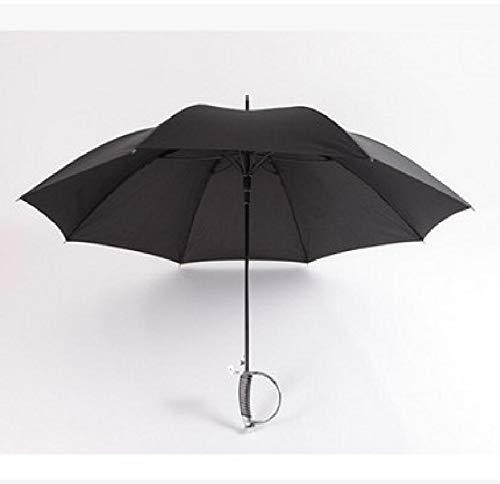BINGHC Paraguas, Paraguas Largo, Espada Paraguas a Prueba de Viento Samurai Ninja, como Lluvia Solar en una línea Recta Paraguas Manual