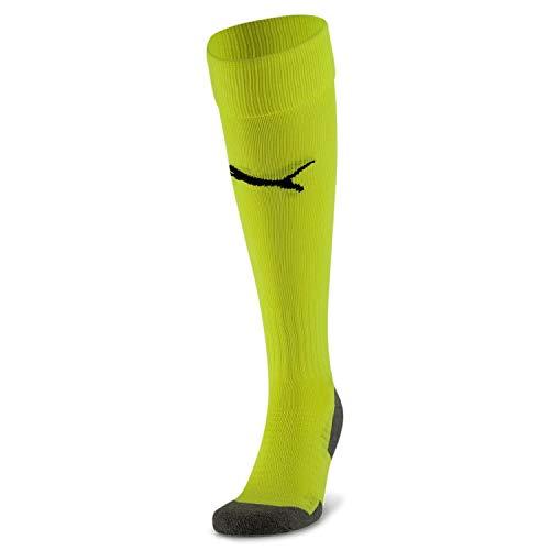 PUMHB|#Puma Team Liga Socks Core, Calzettoni Calcio Uomo, Fluo Yellow, 2
