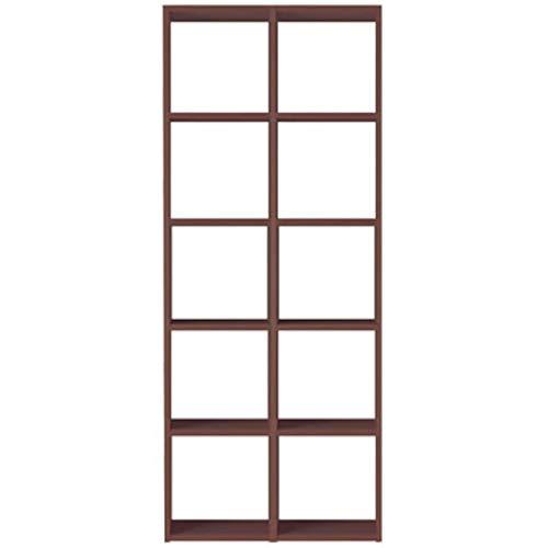 無印良品 スタッキングシェルフセット・5段 幅82×奥行28.5×高さ200cm 37267060