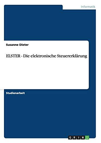 ELSTER - Die elektronische Steuererklärung