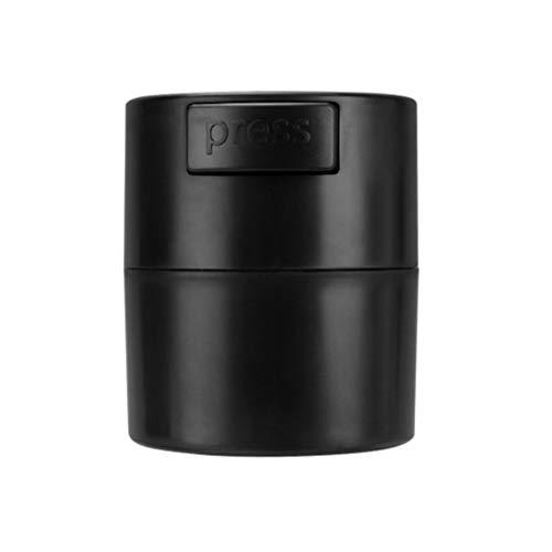 SOLUSTRE Réservoir de Stockage de Colle à Cils Cylindre de Récipient de Pot de Stockage Scellé avec Boucle de Joint pour Greffer Le Maquillage Des Cils (Noir)