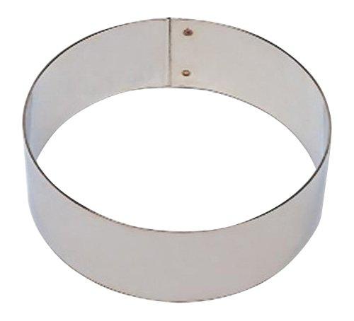 Cercle à entremets en Inox 28cm - Matfer